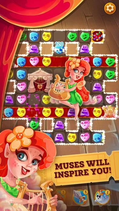 Queen of Drama: Matching game screenshot three