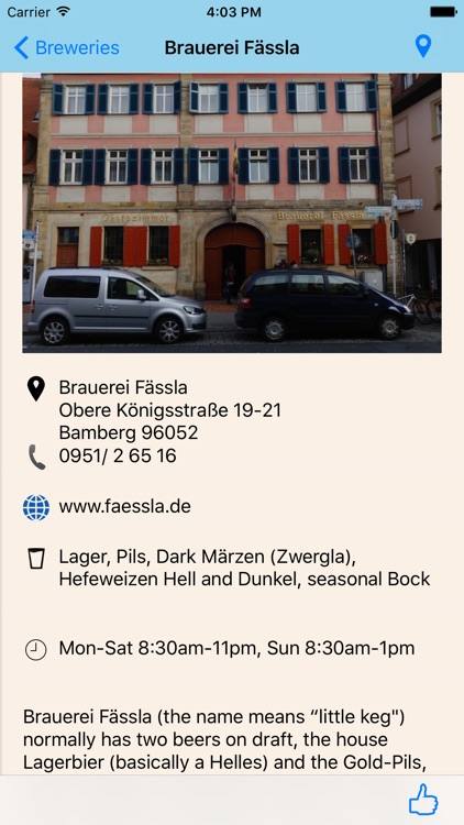 Beer Drinker's Guide to Bamberg screenshot-2