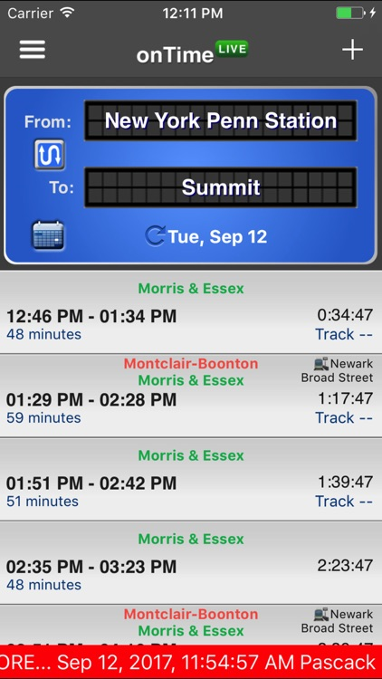 onTime NJT screenshot-3