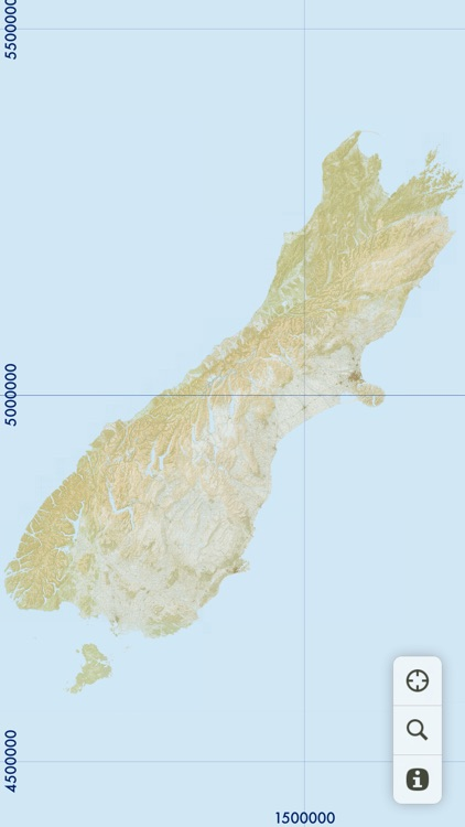 MapApp NZ South Island
