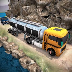 Trailer Truck Oil Transport 3D app