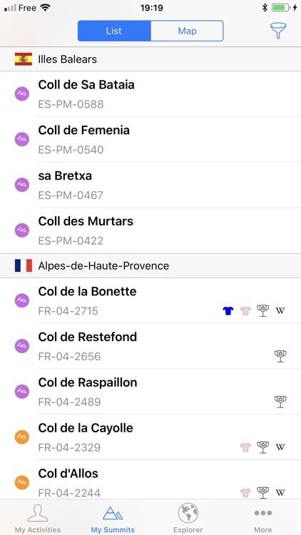 AltiFondo for Garmin Connect screenshot-3
