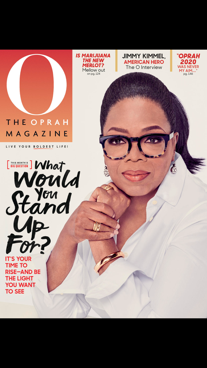 O, The Oprah Magazine US Screenshot