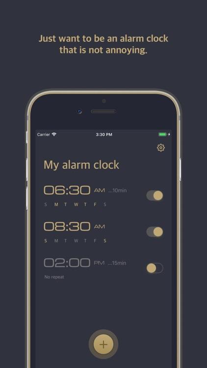 Relax Alarm-Voice time clock screenshot-0