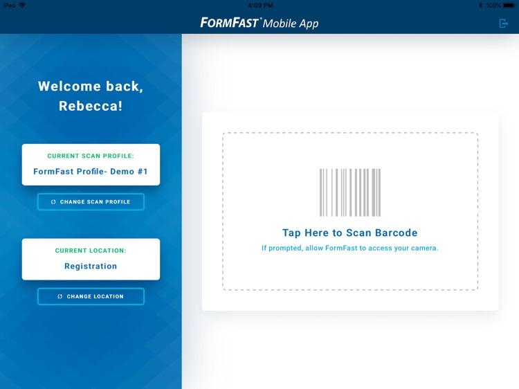 FormFast Mobile App