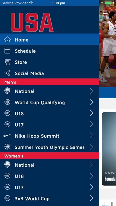 Screenshot #3 pour USA Basketball