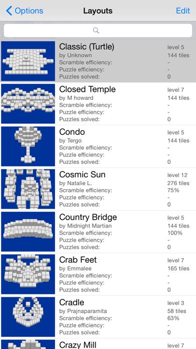 Moonlight Mahjong Lite screenshot four