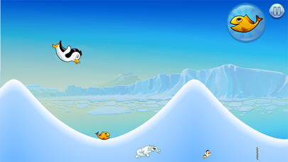 Racing Penguin: Slide...