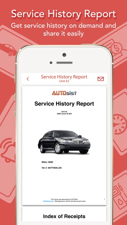 AUTOsist-Car/Fleet Maintenance screenshot-9