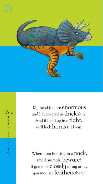 Flip Flap Dinosaurs screenshot one