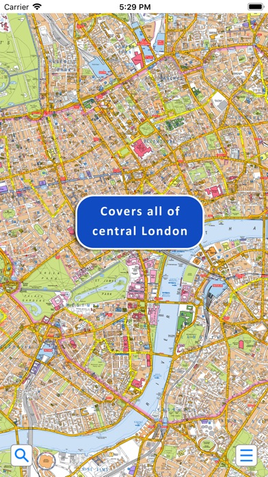 Az Street Map Of London.Central London A Z Street Map App Download Travel Android Apk