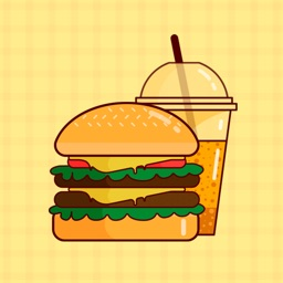Hamburger Frenzy Stickers