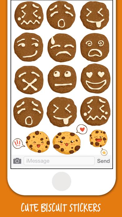 Yummy Biscuit Stickers screenshot three
