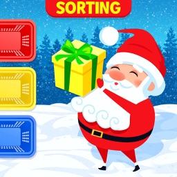 Kids Sorting Christmas Games