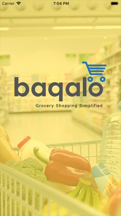 Screenshot for baqalo(UAE) - Order Grocery in United Arab Emirates App Store