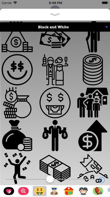 I'm Rich Stickers HD screenshot-3