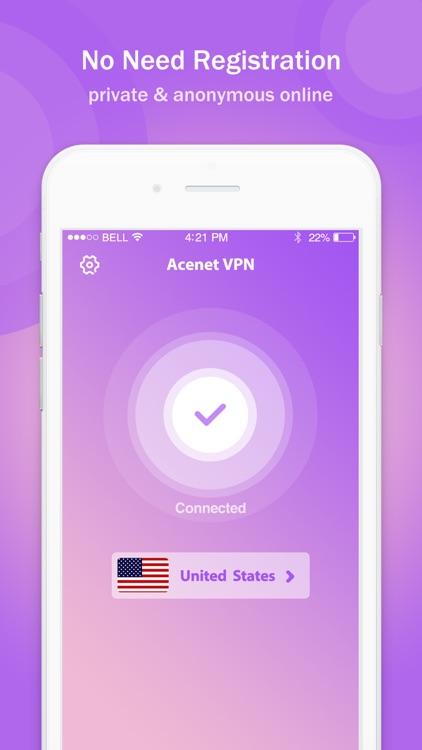 VPN - Acenet VPN Proxy Unlimited & Secure Hotspot