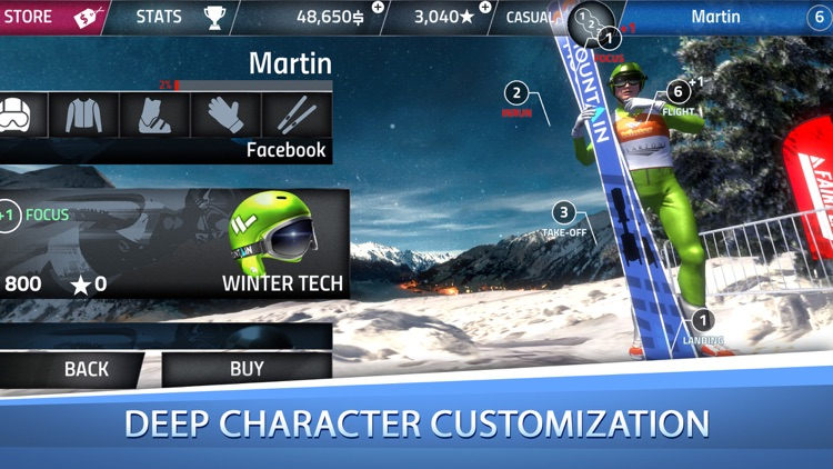 Ski Jumping Pro screenshot-2
