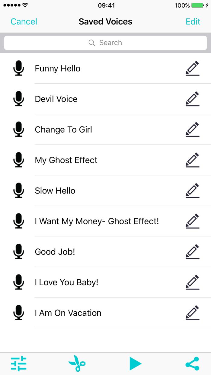 Voice Changer Calls Record-er Screenshot