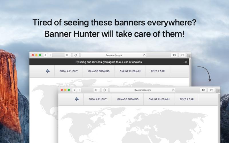 Banner Hunter for Mac