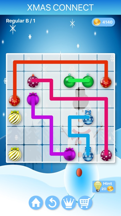 Christmas Connect - Puzzles screenshot-3