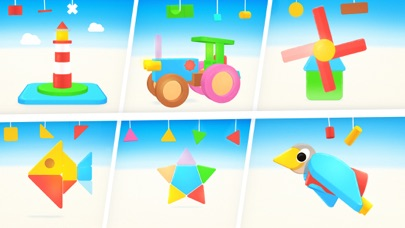 Puzzle Shapes: Toddlers & Kids app image