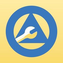 AA App - 12 Steps Alcoholics