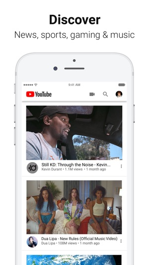 how to watch live streams on youtube app