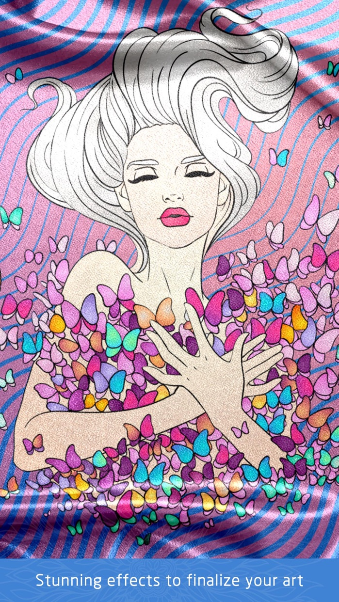Colour Doodle Colouring Book Screenshot