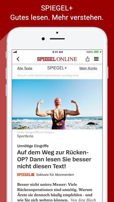 Spiegel Online review screenshots