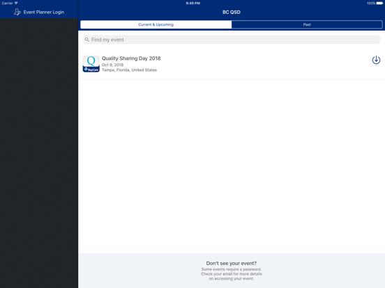 iPad Image of BayCare Quality Sharing Day