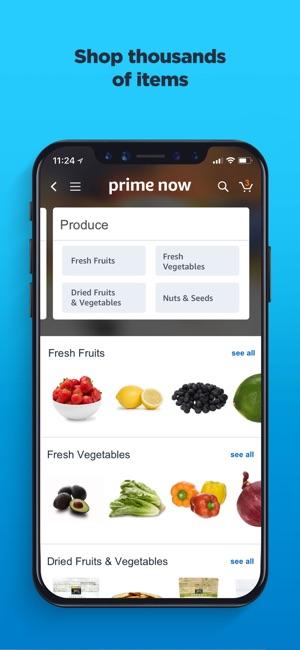 Amazon Prime Now on the App Store fe245289e