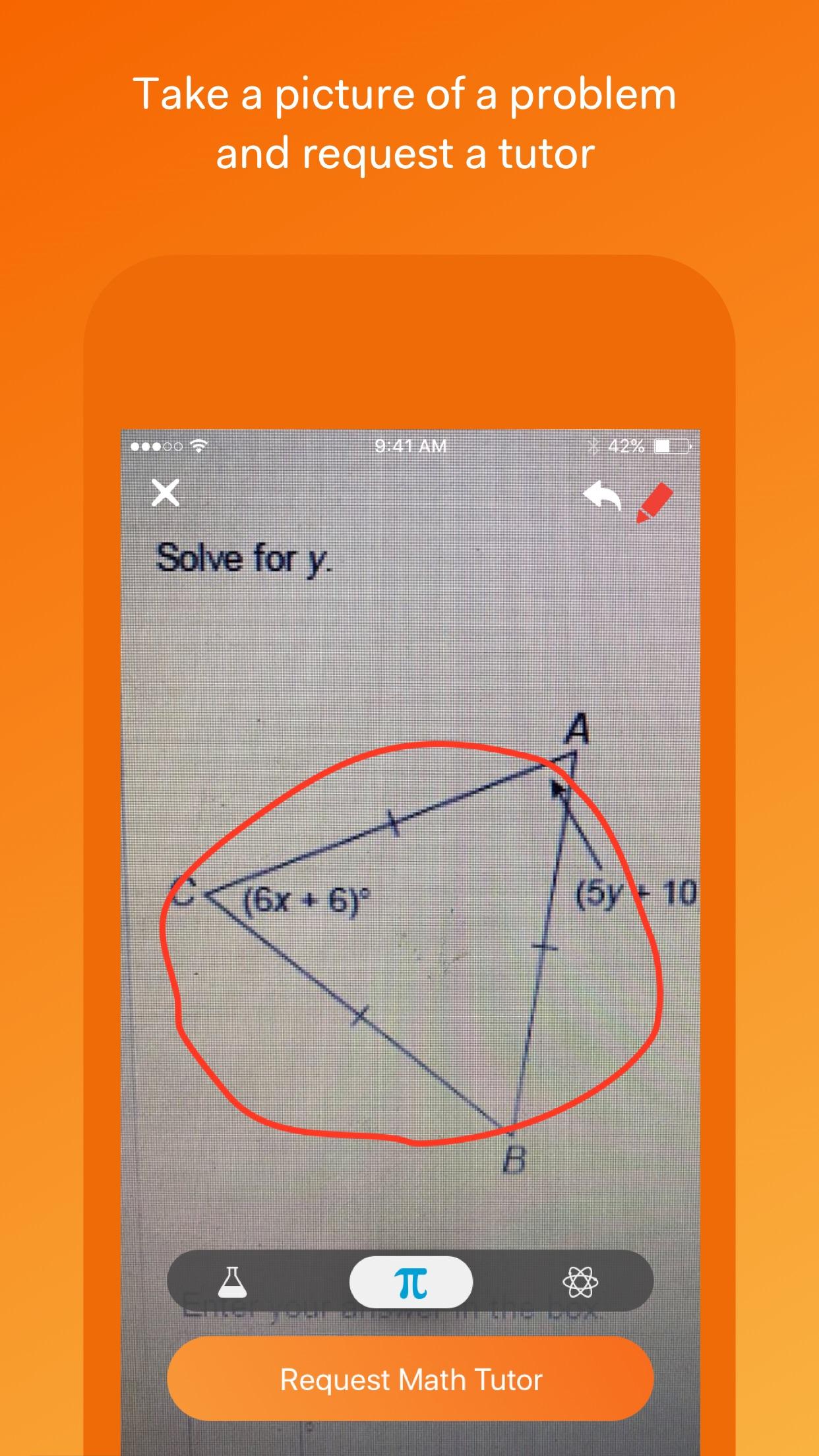 Yup - Math & Science HW Help Screenshot
