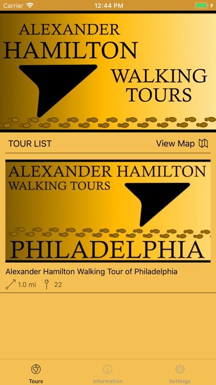 Alexander Hamilton Tours