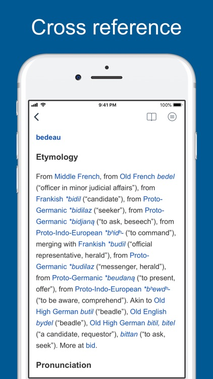 French Etymology and Origins screenshot-3