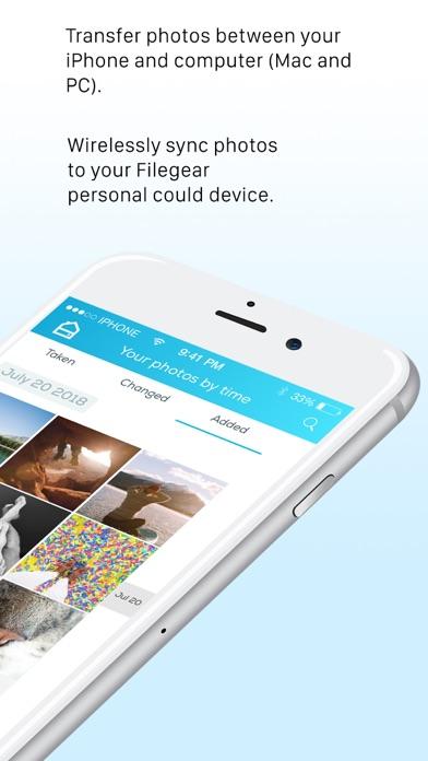 Filegear Personal Cloud Drive screenshot two