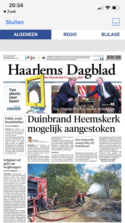 Haarlems Dagblad - krant