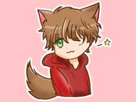 Kawaii Kemono Sticker