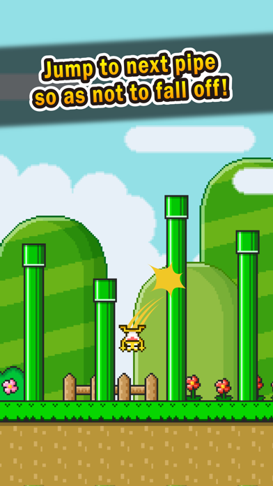 Jumping Frog - pipes adventure - screenshot three