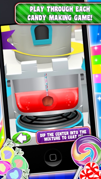 Sweet Candy Maker Games screenshot-2