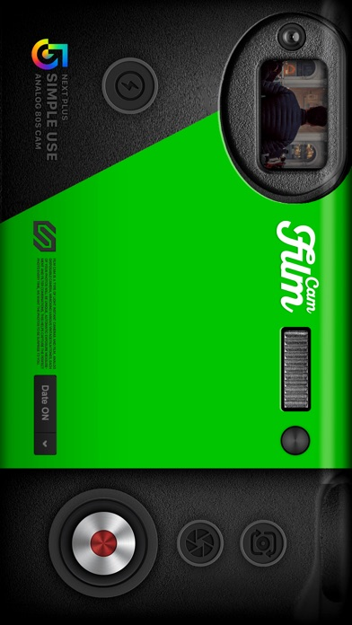 Film Cam - インスタントカメラ快門ビンホールカメラ ScreenShot0