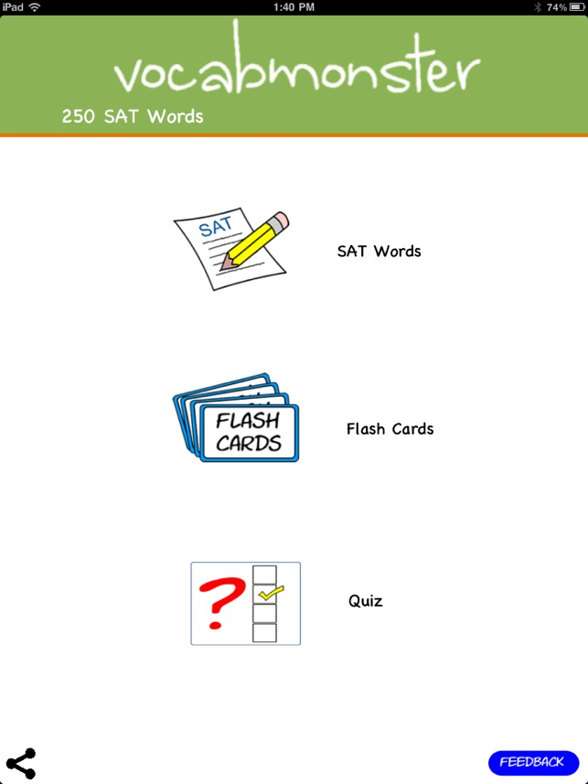 250 sat words
