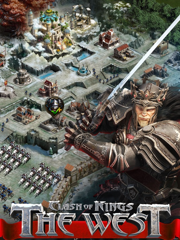 Clash of Kings: The West на iPad