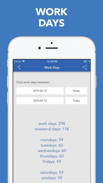 Date & Time Calculator(9 in 1) screenshot-3