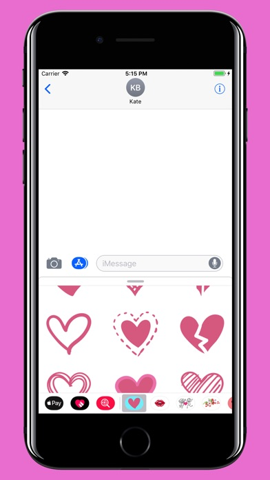 Screenshot for Hearts for valentine's day in Saudi Arabia App Store
