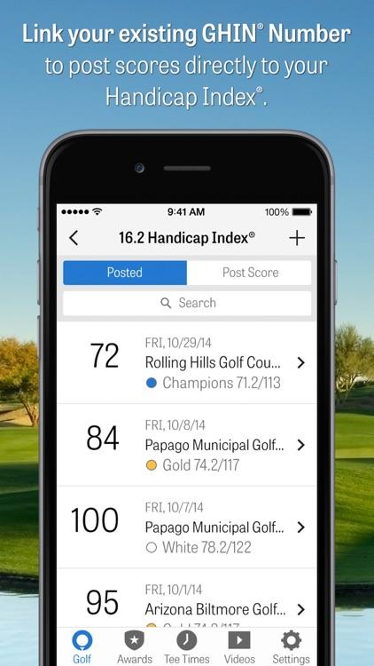 Golfshot Plus: Golf GPS screenshot-3