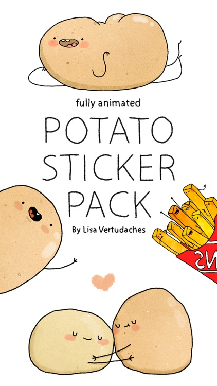Potato Sticker Pack screenshot-0
