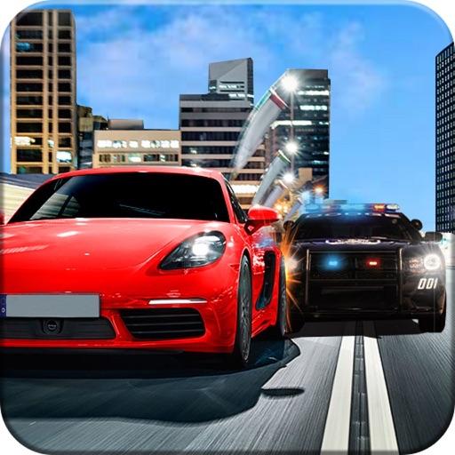 Police Car Vs Gangster Chase