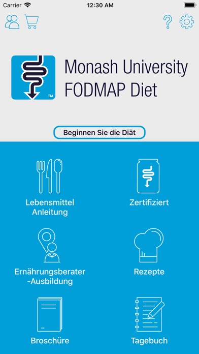 Screenshot for Monash University FODMAP diet in Germany App Store