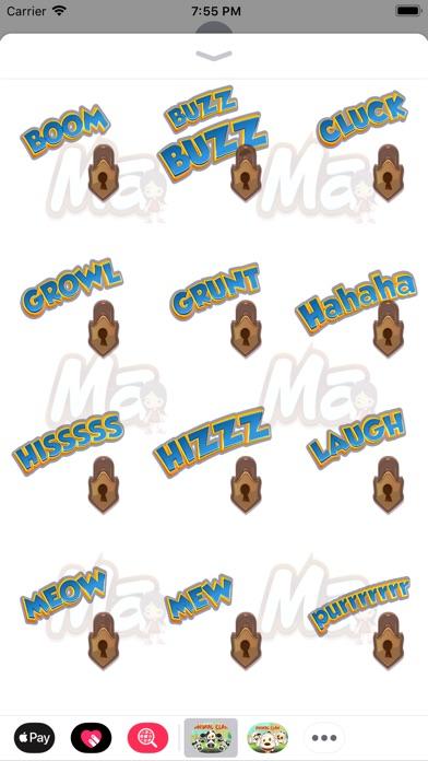 Animal Clan Cow Stickers Screenshot 4
